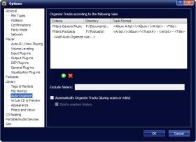 MediaMonkey Background Auto-organize tool