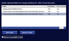 MediaMonkey File Monitor UI