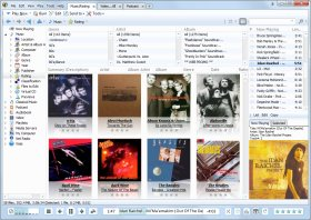 media monkey: /> Seems a popular choice too, their claim: music manager and jukebox for large collections of CDs, MP3s and other audio files. Download here <a href=
